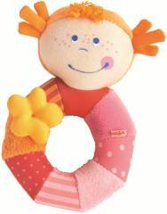 Haba Rosi Ringlet Clutching Rattle Toy 3216