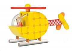 Janod Wooden Magnetic Helicopter Puzzle