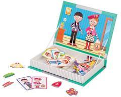 Janod Magnetic Puzzle Book Fashion Dress Up