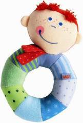 Haba Rio Ringlet Clutching Rattle Toy 3207