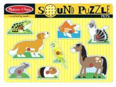 Melissa & Doug Pets Sounds Puzzle