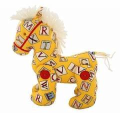 Alimrose Designs Sunshine Alphabet Jointed Pony Horse