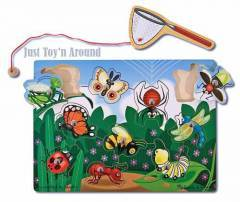 Melissa & Doug Bugs Catching Puzzle Game