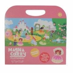 Tiger Tribe Magnetic Magna Carry Playbooks Princess Garden