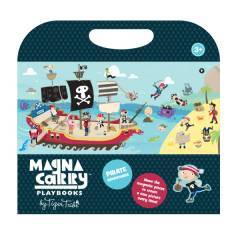 Tiger Tribe Magnetic Magna Carry Playbooks Pirate Adventure