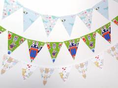 Party Buntings Decorations Robots