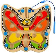 Hape Magnetic Colour Flutter Butterfly Marble Maze