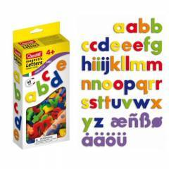 Quercetti Magnetic Lowercase Letters 40 Pieces