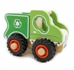 Wooden Recycle Rubbish Truck