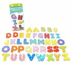 Wooden Upper case Magentic Letters 40pcs